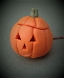 Dolls House Table Light Pumpkin