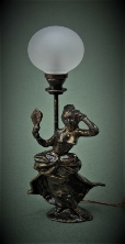Dolls House Table Light Bronze