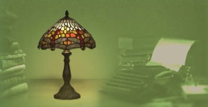 Dollhouse table lamps