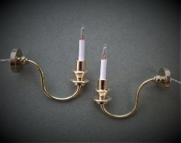 dolls house wall lights